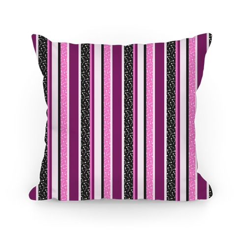 Spring Floral Stripes (Pink and Purple)