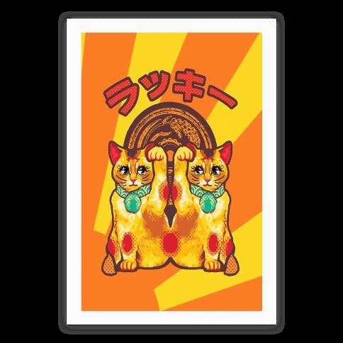 Lucky Cat Pop Art