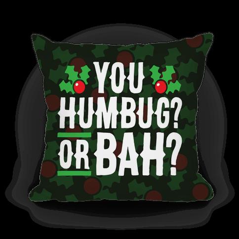 You Humbug? Or Bah?