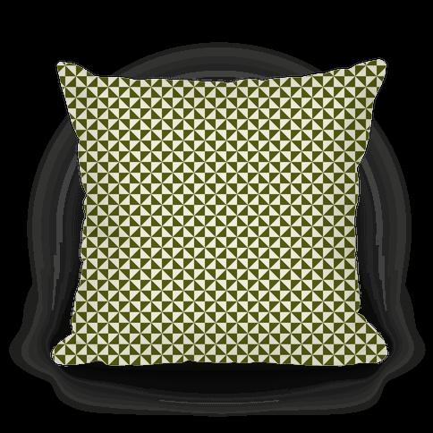 Green Pinwheel Pattern