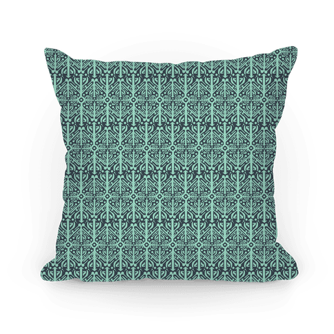 Green Medieval Pattern