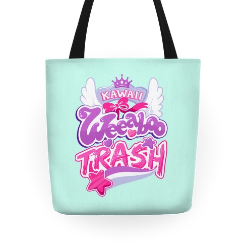 Kawaii Weeaboo Trash Anime Logo