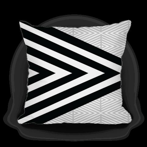 Large Geometric Diamond Pattern