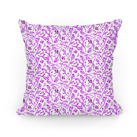Lovely Wildflower Meadow Purple Pattern
