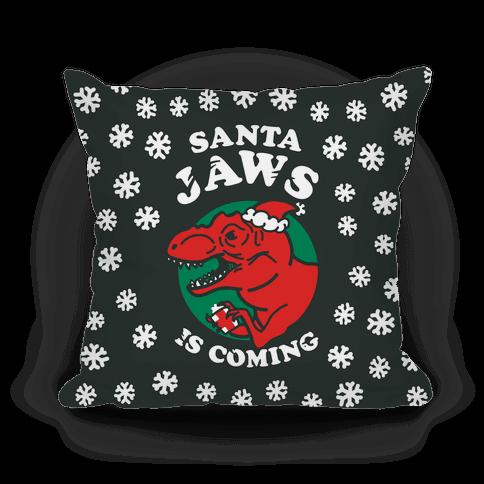 Santa Jaws Is Coming (T-Rex)