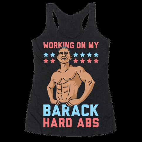 Working On My Barack Hard Abs