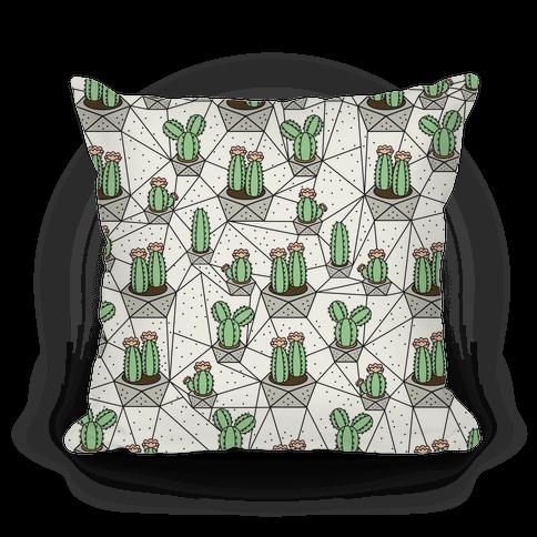 Geometric Cactus Pattern