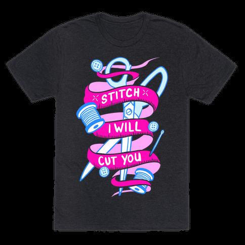 Stitch I Will Cut You