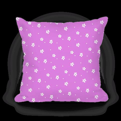 Purple Dainty Floral Pattern