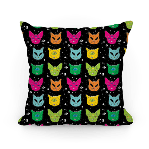 Alien Cat Pattern