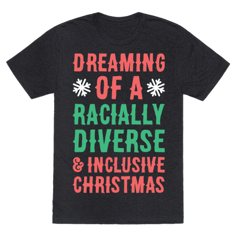 Dreaming Of A Racially Diverse & Inclusive Christmas
