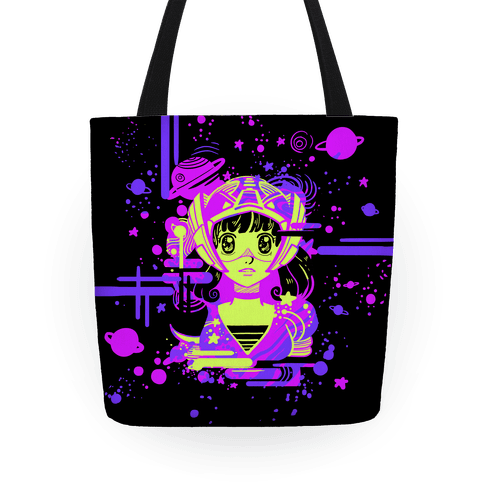 Neon Anime Space Cadet