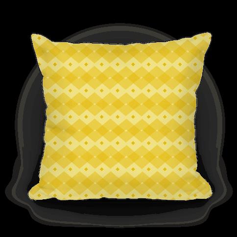 Yellow Checkered Pattern