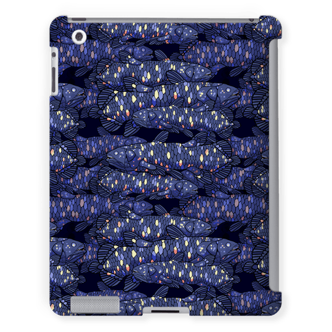 Nautical Coelacanth Fish Pattern