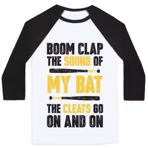 Boom Clap The Sound Of My Bat The Cleats Go On And On