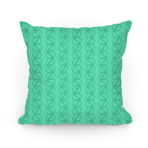 Green Braid Stripe Pattern