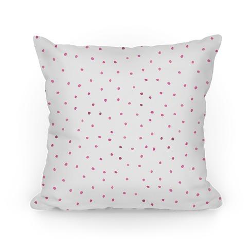 Pink Watercolor Polka Dots