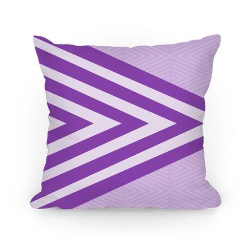 Large Purple Geometric Diamond Pattern
