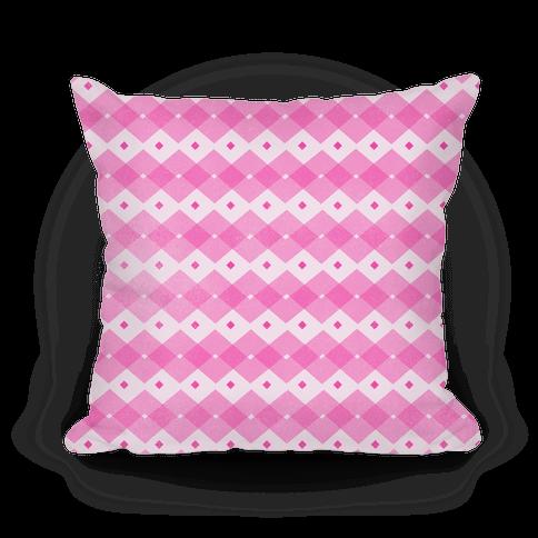 Pink Checkered Pattern