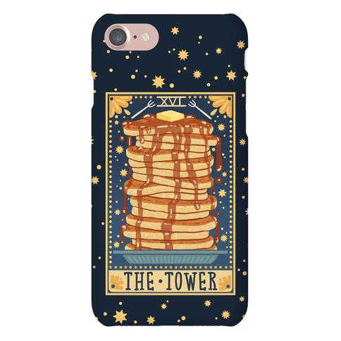 Tarot Card: The Tower (Of Pancakes)