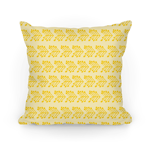 Yellow Cute Chevron Pattern