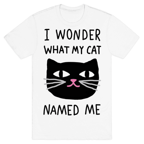 I Wonder What My Cat Named Me