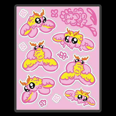 Rosy Maple Moths