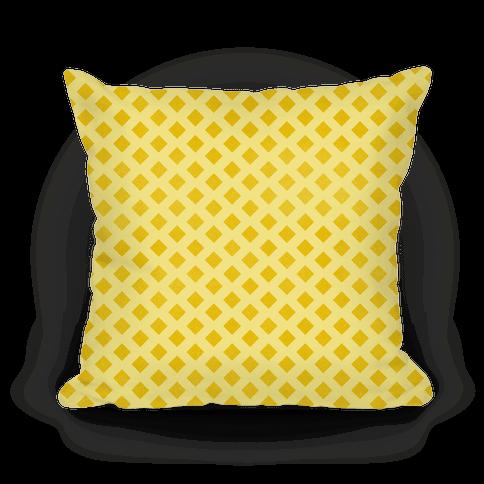Yellow Diamond Pattern