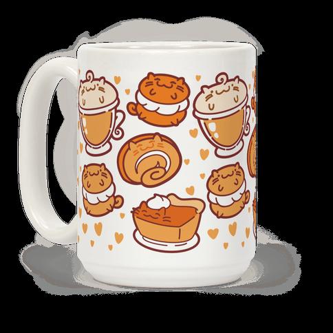 Purrmpkin Spice Cat Mug