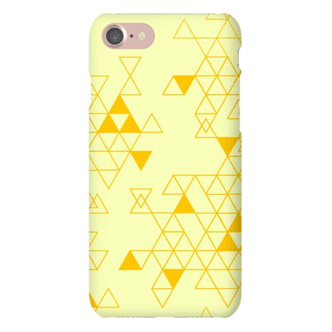 Geometric Triforce Pattern