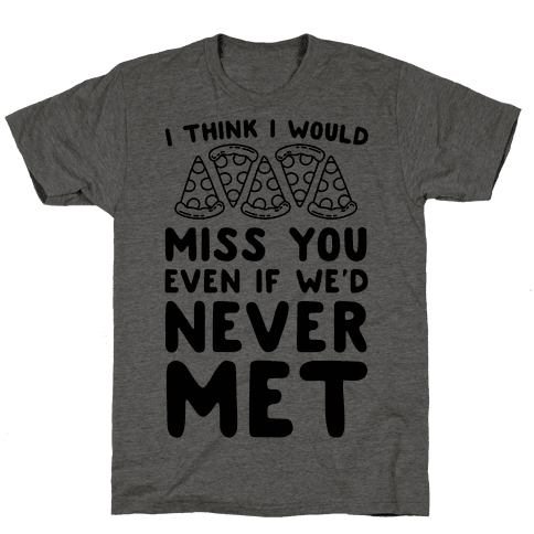 I Think I Would Miss You Even If We'd Never Met