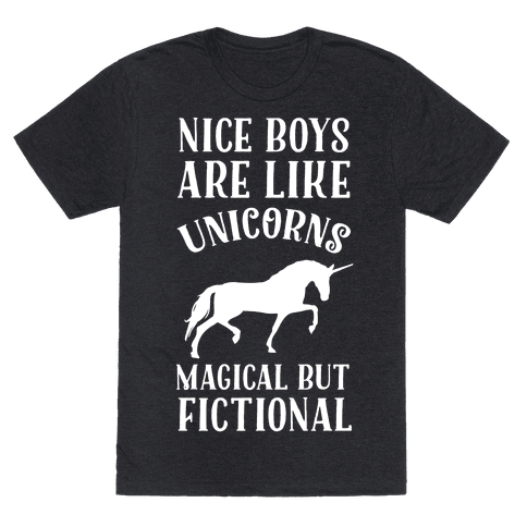 Nice Boys Are Like Unicorns Magical But Fictional