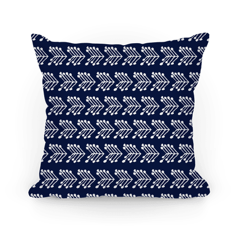 Navy Cute Chevron Pattern