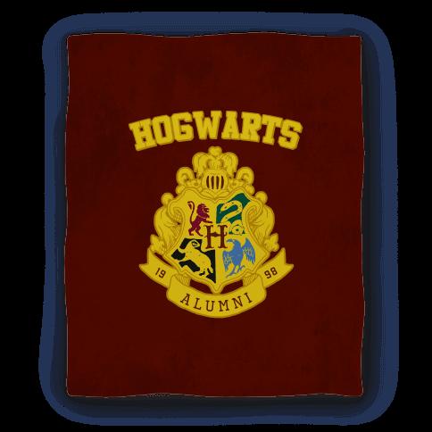 Hogwarts Alumni Crest Blanket