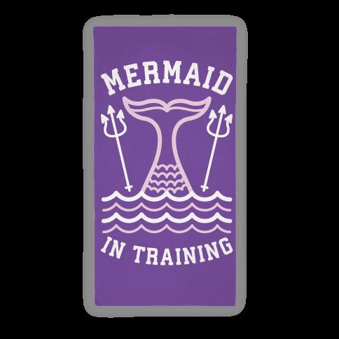 Mermaid In Training (Towel)
