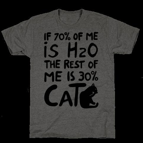 70 Percent H20 30 Percent Cat