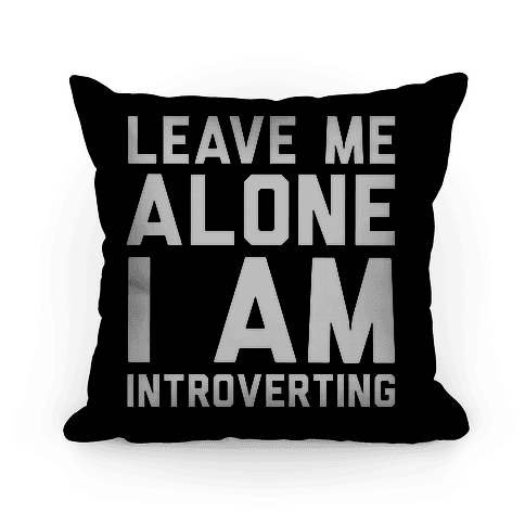 Leave Me Alone I Am Introverting