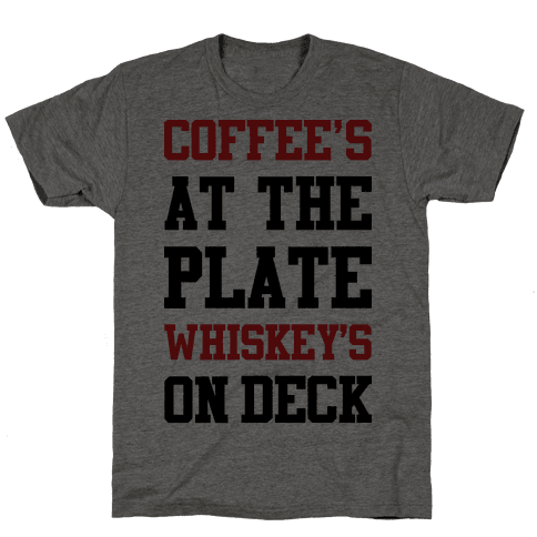 Coffees At The Plate Whiskey's On Deck