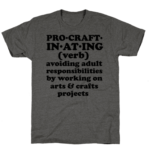Procraftinating Definition