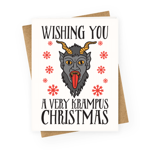 Wishing You A Very Krampus Christmas