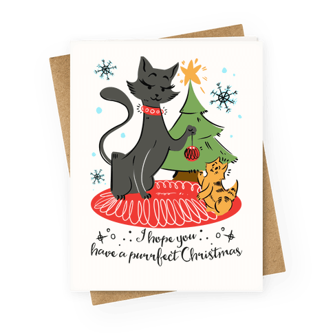 I Hope Have a Purrfect Christmas