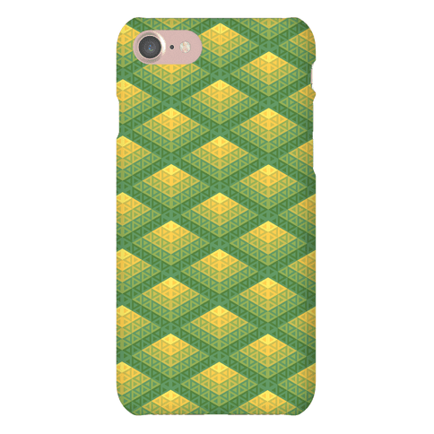 Radiant Fish Scale Pattern