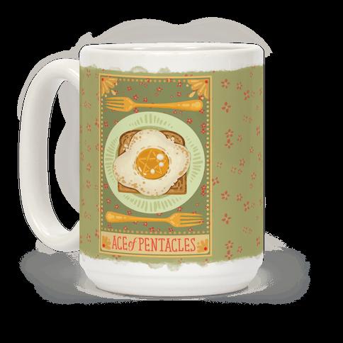 Tarot Card: The Egg Of Pentacles