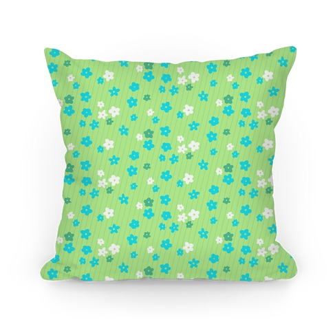 Little Floral Meadow Pattern (Lime Green)