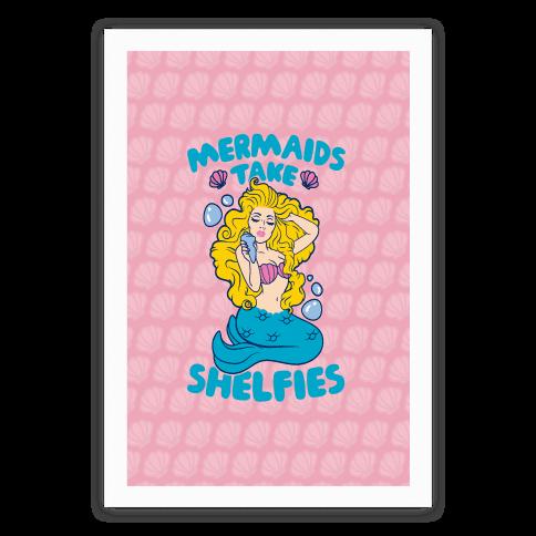 Mermaids Take Shelfies