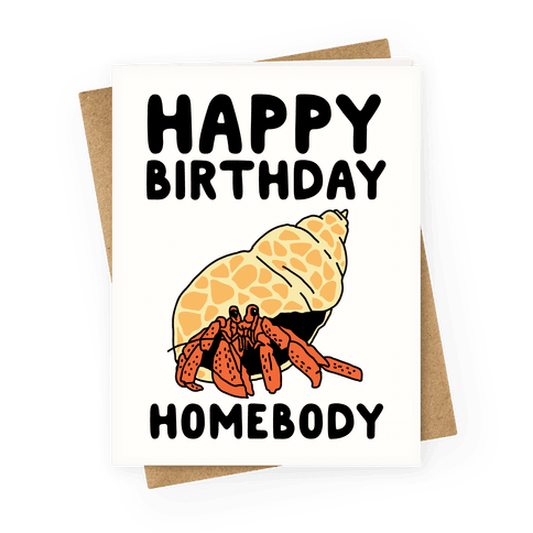 Happy Birthday Homebody