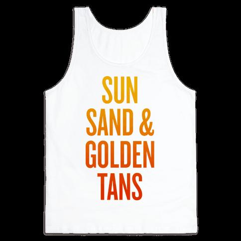 Sun, Sand, & Golden Tans
