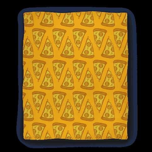Pizza Pattern Blanket