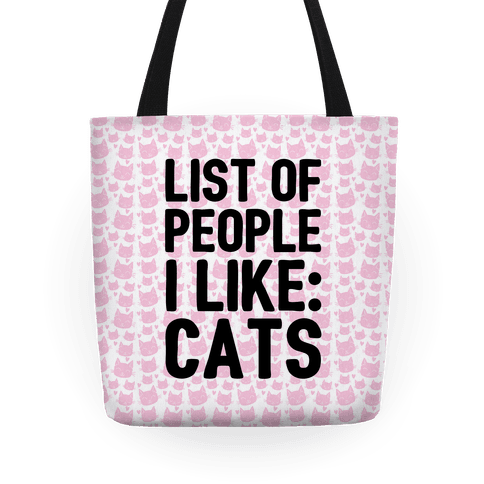 List Of People I Like: Cats