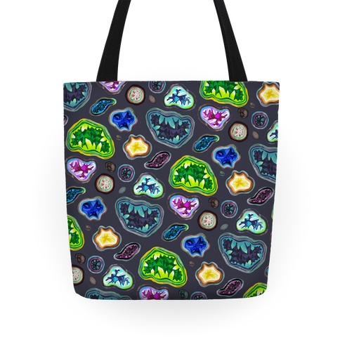 Geode Pattern Tote